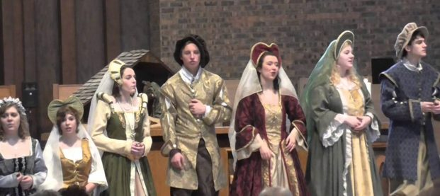 LWE: Madrigal Dinner 2016